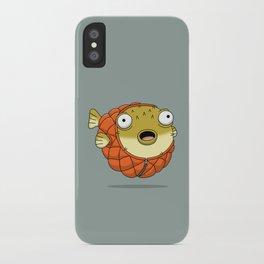 Puffer fish iPhone Case