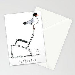 A Few Parisians: Jardin des Tuileries Stationery Cards
