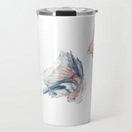 Fighting Fish Travel Mug