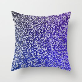 Purple ombre zest space theme Throw Pillow