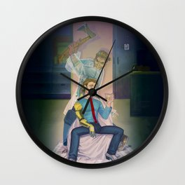 Hyperion Psycho Wall Clock