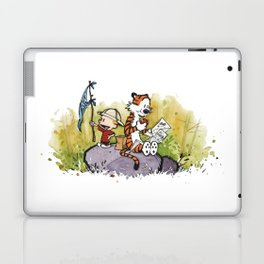 Calvin And Hobbes mapping Laptop & iPad Skin