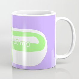 Crazy Pill Lavender Coffee Mug
