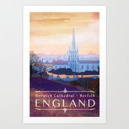 Norfolk England Art Print