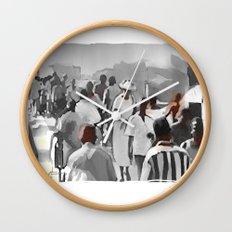 social gathering Wall Clock