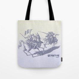 Modern Samurais Tote Bag
