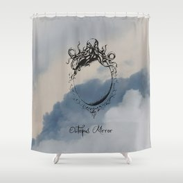 """Collection """" Nightmares"""" impression """"Mirror Octopus"""" Shower Curtain"""