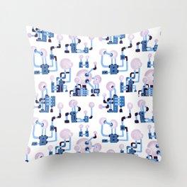 Pipe Pattern Throw Pillow