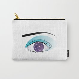 Universe in the Eye Carry-All Pouch