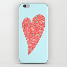 Puzzled Heart iPhone Skin