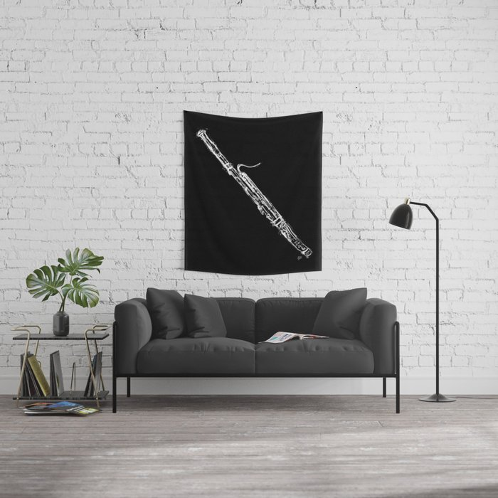 Bassoon Wall Tapestry