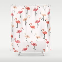 Flamingo Fun Shower Curtain