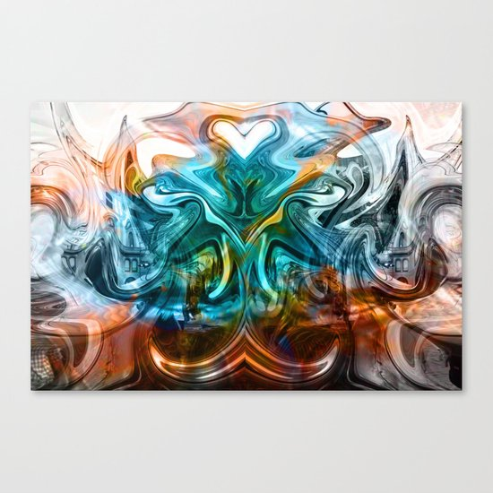 liquified time Canvas Print