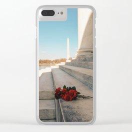 Washington Monument 8 Clear iPhone Case