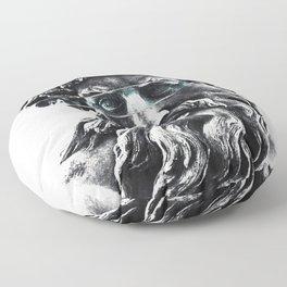 Zeus the king of gods Floor Pillow