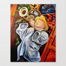 Cuban Trumpet Canvas Print