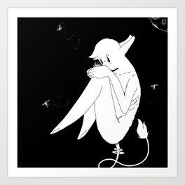 Flying Fires Art Print