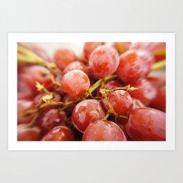 Grapes of Summer Art Print