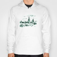medieval Hoodies featuring Medieval landscape. by LaDa