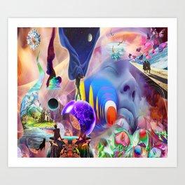 'Dreamspace & Lucid Dreaming' Art Print