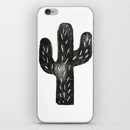 Stamped Cactus iPhone Skin