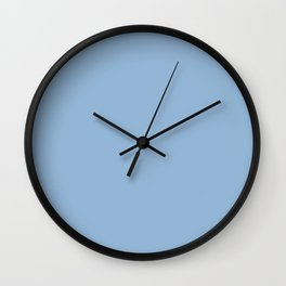Pantone 14-4122 Airy Blue Wall Clock