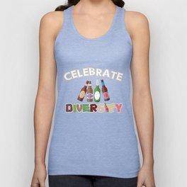 Celebrate Beer Diversity Funny T-shirt Unisex Tank Top