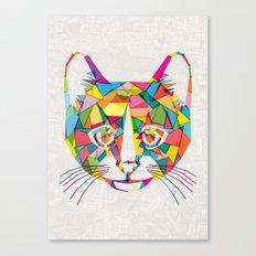 RainboCat Canvas Print