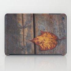 vintage leaf. iPad Case