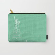 New York by Friztin Carry-All Pouch