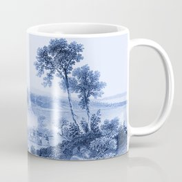 Lake Champlain 1850 (Cyan Blue) Coffee Mug