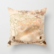 WINDS OF CHANGE. Throw Pillow