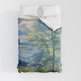 Trees And Fields - Arthur Bowen Davies Comforters