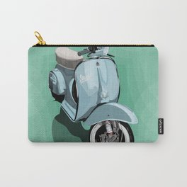 Vespa bluish Carry-All Pouch