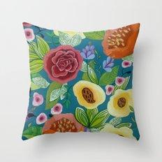 Flora Form Throw Pillow