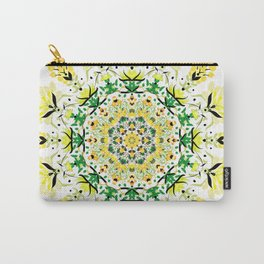 Abstract Garden 3 Carry-All Pouch