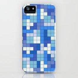 Tetris Camouflage Marine iPhone Case