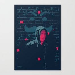 Mr. Robot - series poster Canvas Print