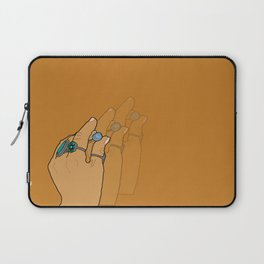 Shell in Hand Laptop Sleeve