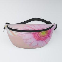 elegant design with a flower on porcelain Fanny Pack