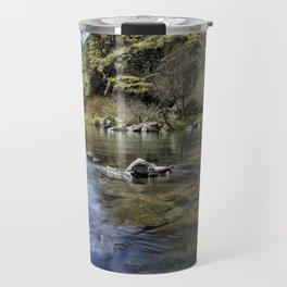 Deschutes River below Steelhead Falls Travel Mug