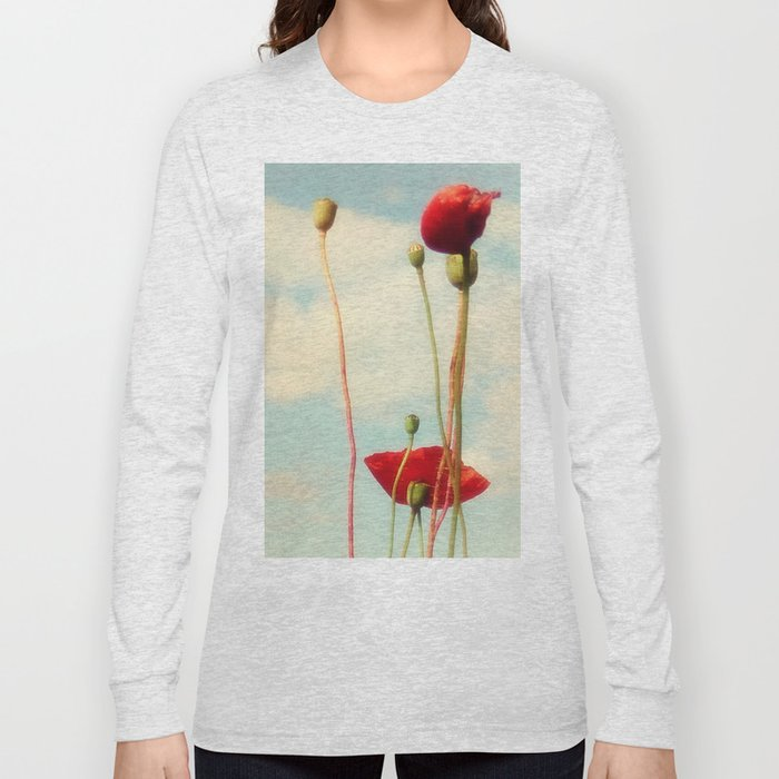 Lost Poppies Long Sleeve T-shirt