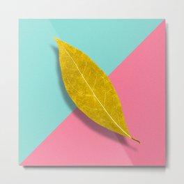 pop leaf Metal Print