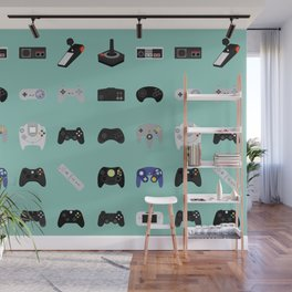 Console Evolution Wall Mural