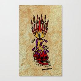 Vivid light Canvas Print