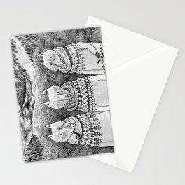 Icelandic foxes Stationery Cards