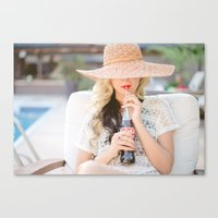 coke Canvas Prints featuring coke by anne blodgett photography
