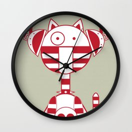 Scat 2 Wall Clock