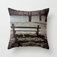 A Place For Thought Throw Pillow
