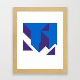 Deconstruction Framed Art Print